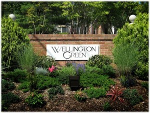 Wellington Green entrance